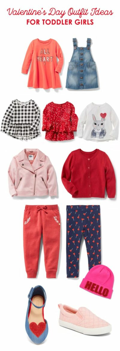 Valentine's Day Outfit Ideas for Toddler Girls