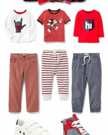 Valentine's Day Outfit Ideas for Toddler Boys