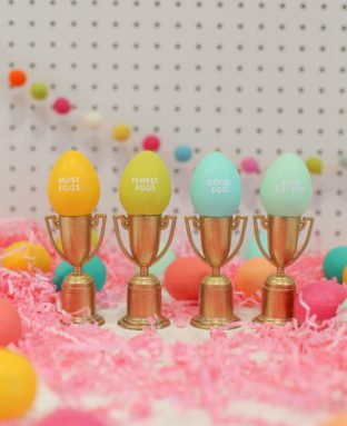 Make These Tiny Trophies for Your Easter Egg Hunts!