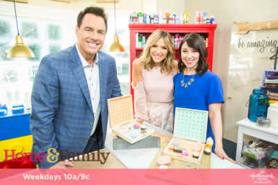 Home and Family television hosts