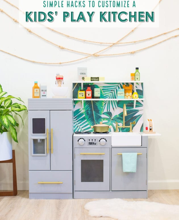 DIY Kids' Play Kitchen Hacks (And Our Favorite Play Kitchen Accessories) thumbnail
