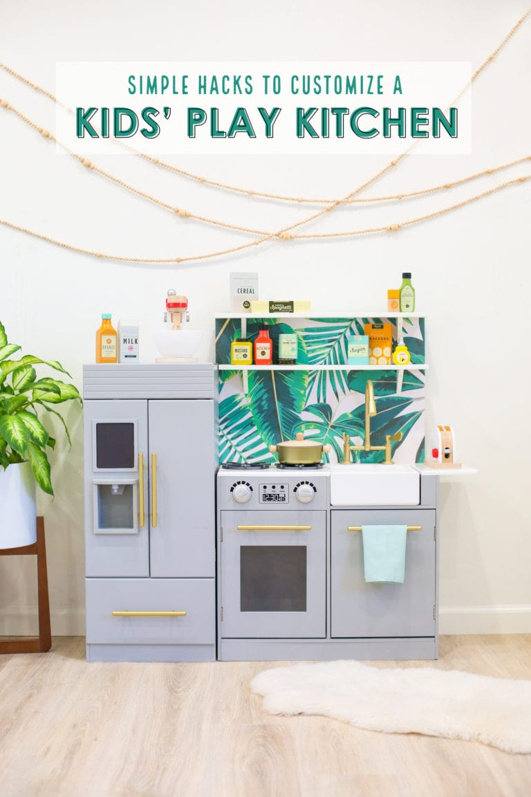 DIY Kids' Play Kitchen Hacks (And Our Favorite Play Kitchen Accessories)