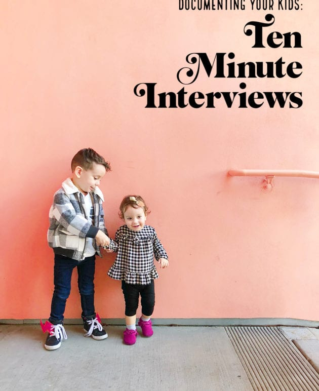 Documenting Our Kids: Ten Minute Interviews thumbnail