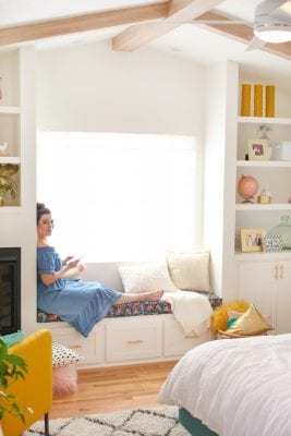 How to outfit a window seat