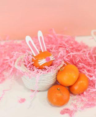 Sweet & Healthy Easter Bunny Snacks