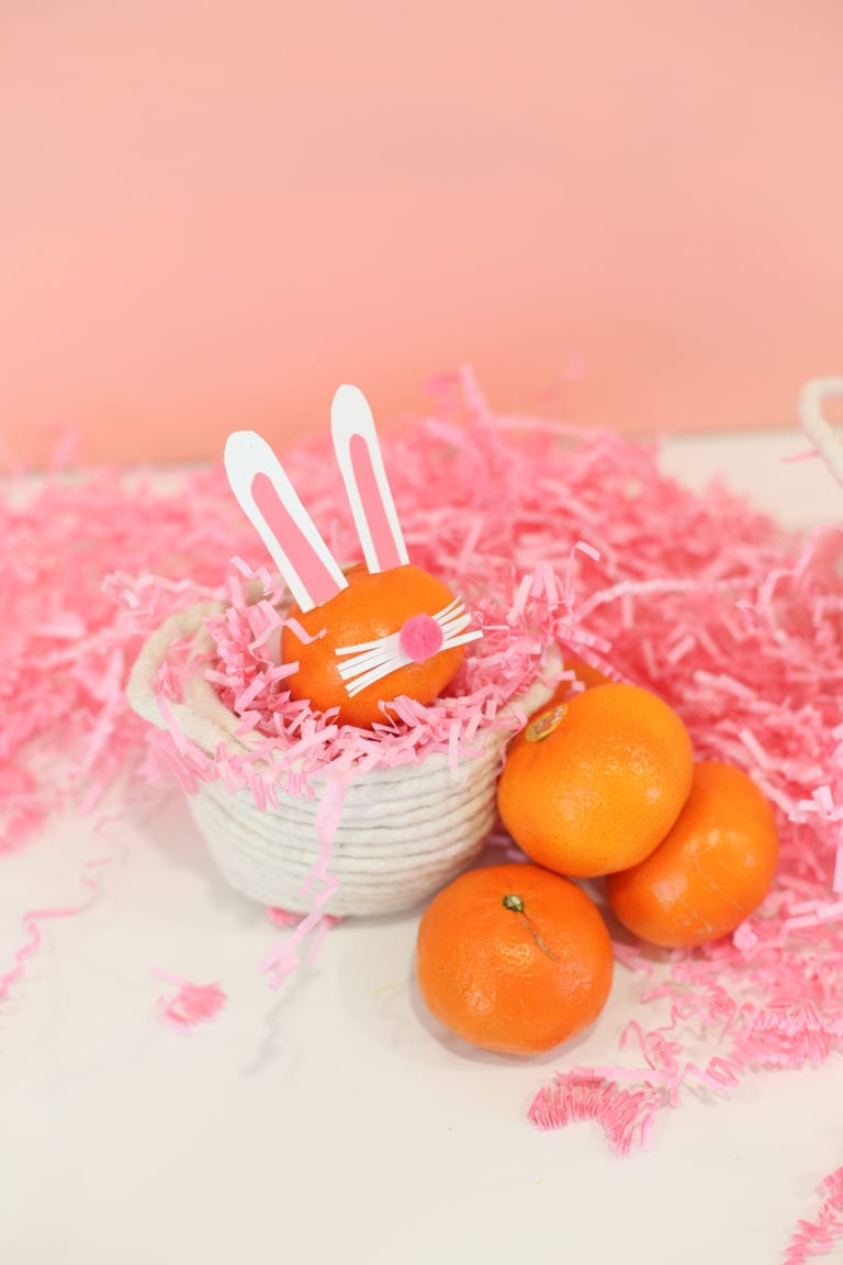 Sweet & Healthy Easter Bunny Snacks
