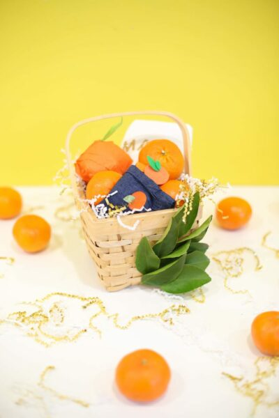 A Sweet and Healthy Fruit-Inspired Easter Basket