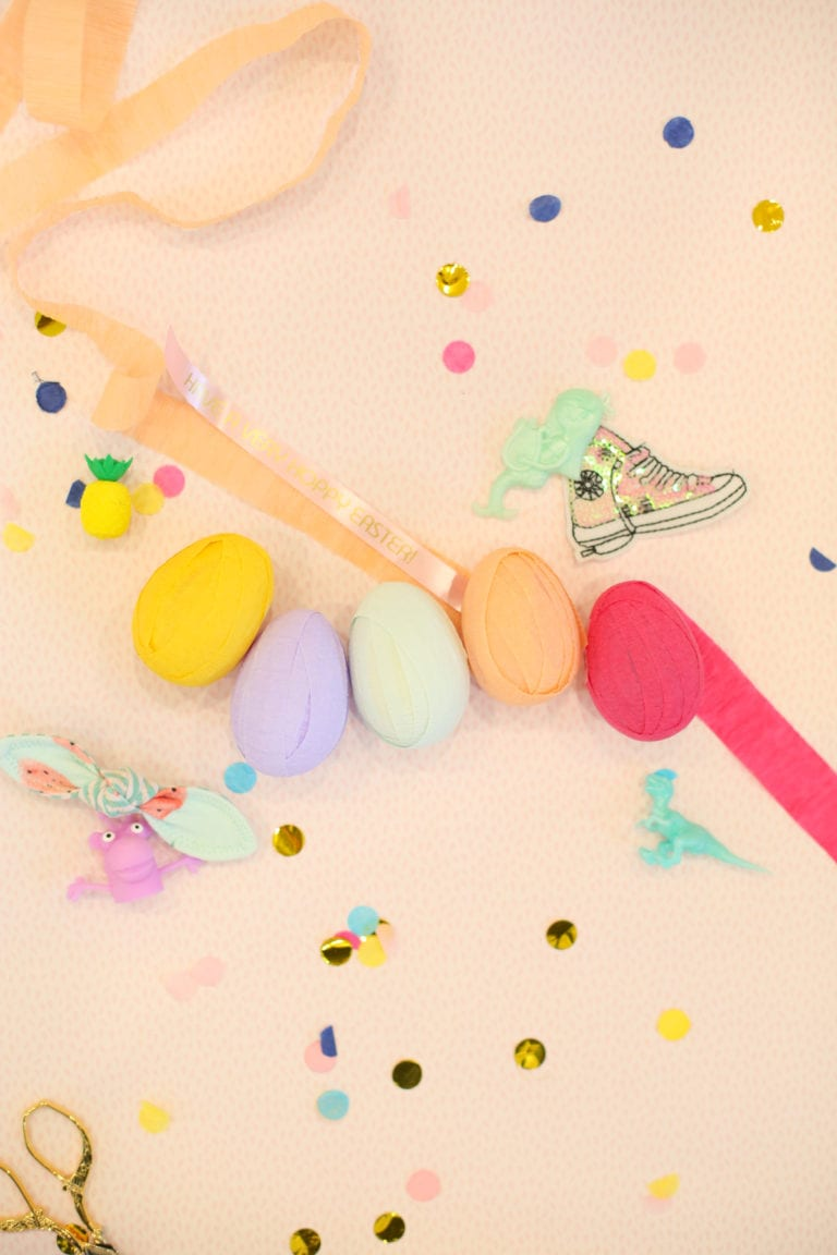 How to Make an Easter Egg Scavenger Hunt with Custom Printed Ribbons