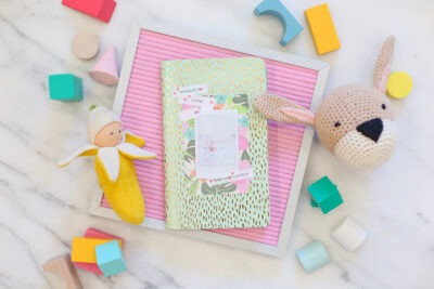 Make Your Own Baby Photo Book
