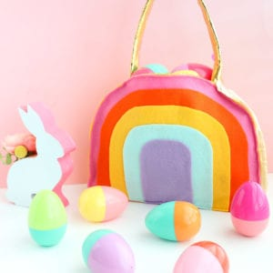 Make a Rainbow Easter Basket thumbnail
