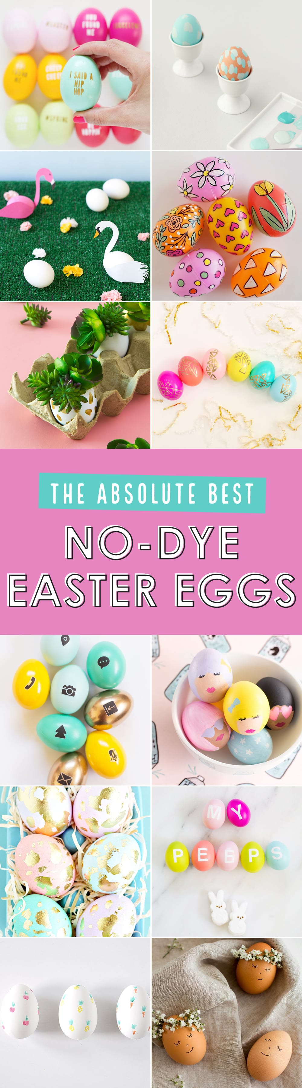 Absolute best no-dye Easter egg ideas