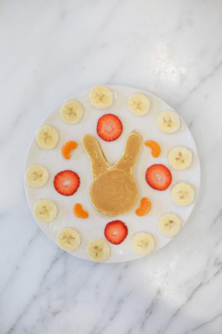 Make Bunny Pancakes for Easter!