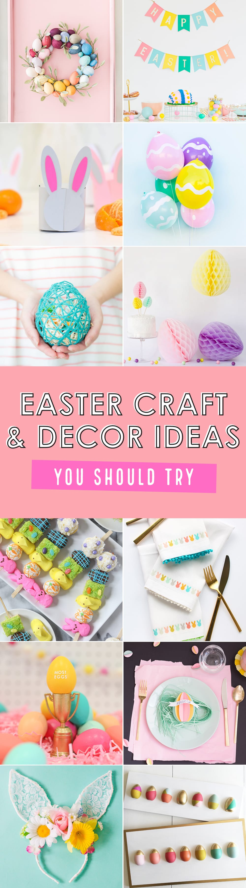 Easter craft and decor ideas to try