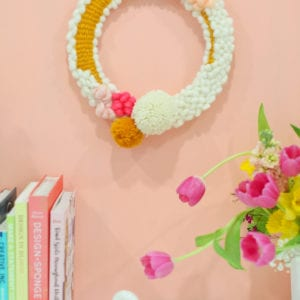 How to Make a Modern Woven Wreath for Your Spring Decor thumbnail