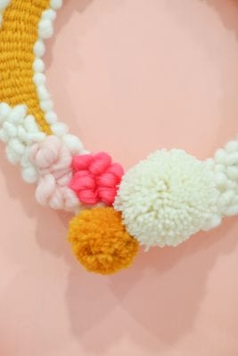 how to make a woven wreath