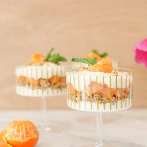 Not Your Grandma's Snack: Mandarin Granola Parfait thumbnail