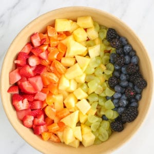 Make a Simple Rainbow Fruit Salad in Ten Minutes thumbnail