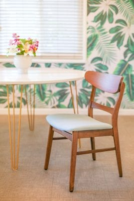 How to make a round kitchen table