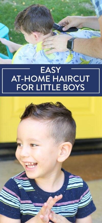 little boys' haircut