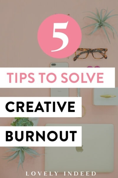 creative burnout