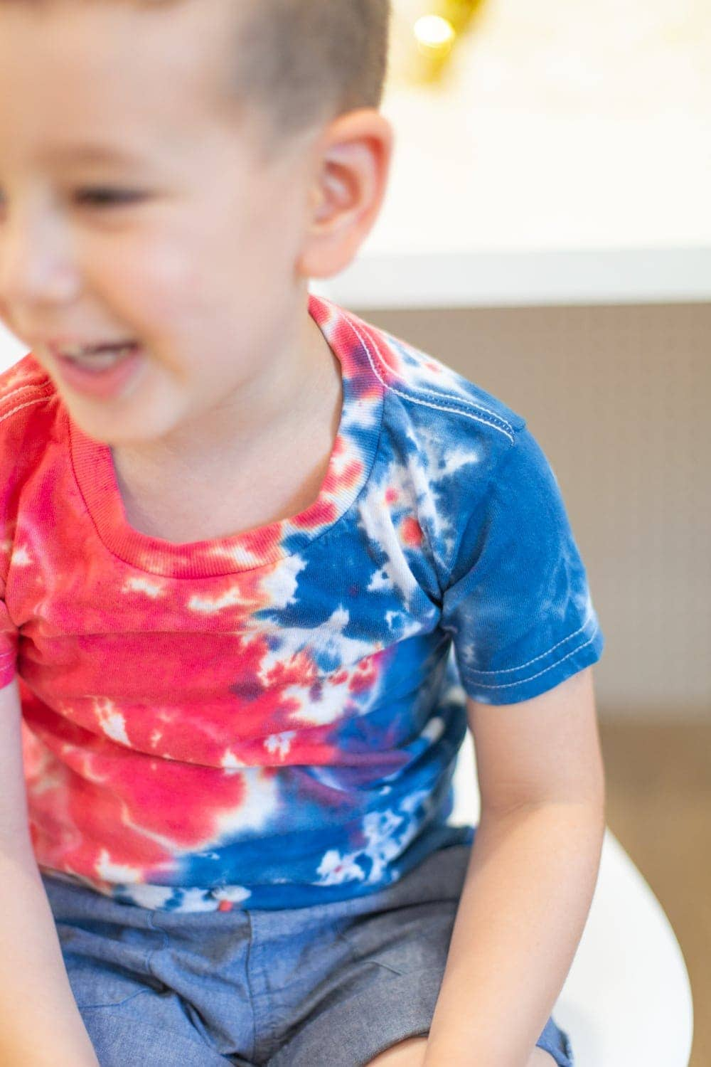 make tie-dye shirts for fourth of july
