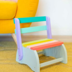 How to Make a Kids' Step Stool Chair thumbnail