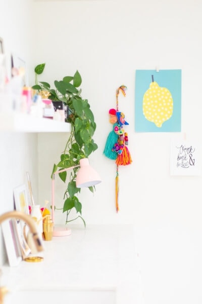 How to Make Embroidered Felt Letter Decorations