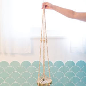 How to Make a Beaded Plant Hanger thumbnail