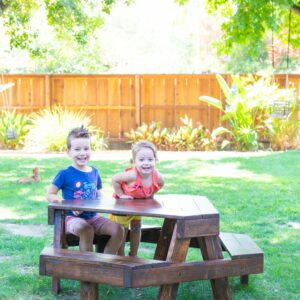 How to Make a Modern Kids' Picnic Table thumbnail