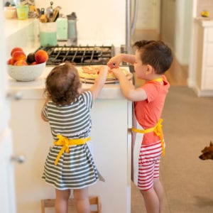 Make a DIY Kids' Apron for Pizza Night thumbnail