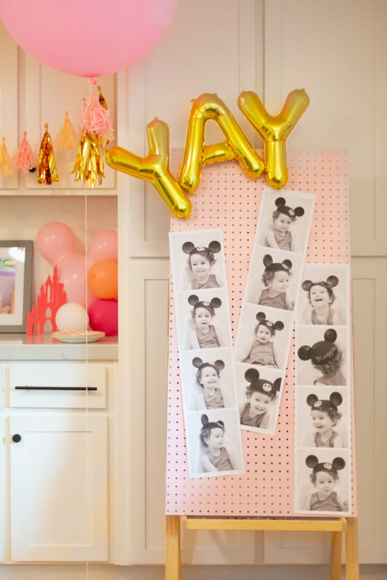 How to Make Giant Photo Booth Strips