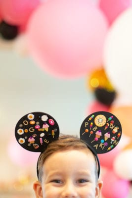 How to make easy Mickey Mouse ears