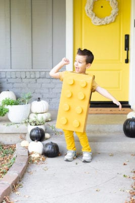 How to make a Lego Halloween costume