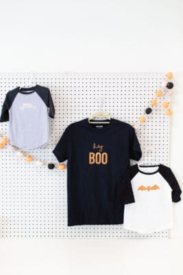 Make no-costume costume Halloween shirts