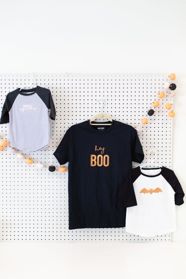 Make Halloween Shirts (For a No-Costume Costume!)