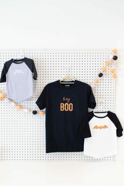 Make no-costume costume Halloween shirts