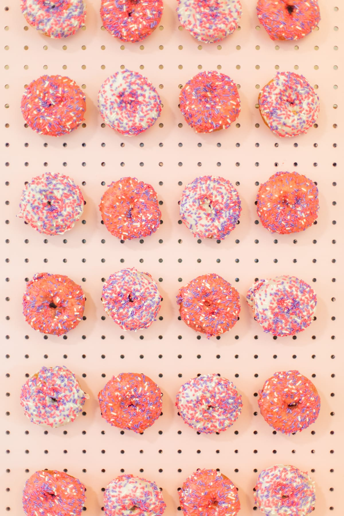 How to Make an Easy Donut Wall