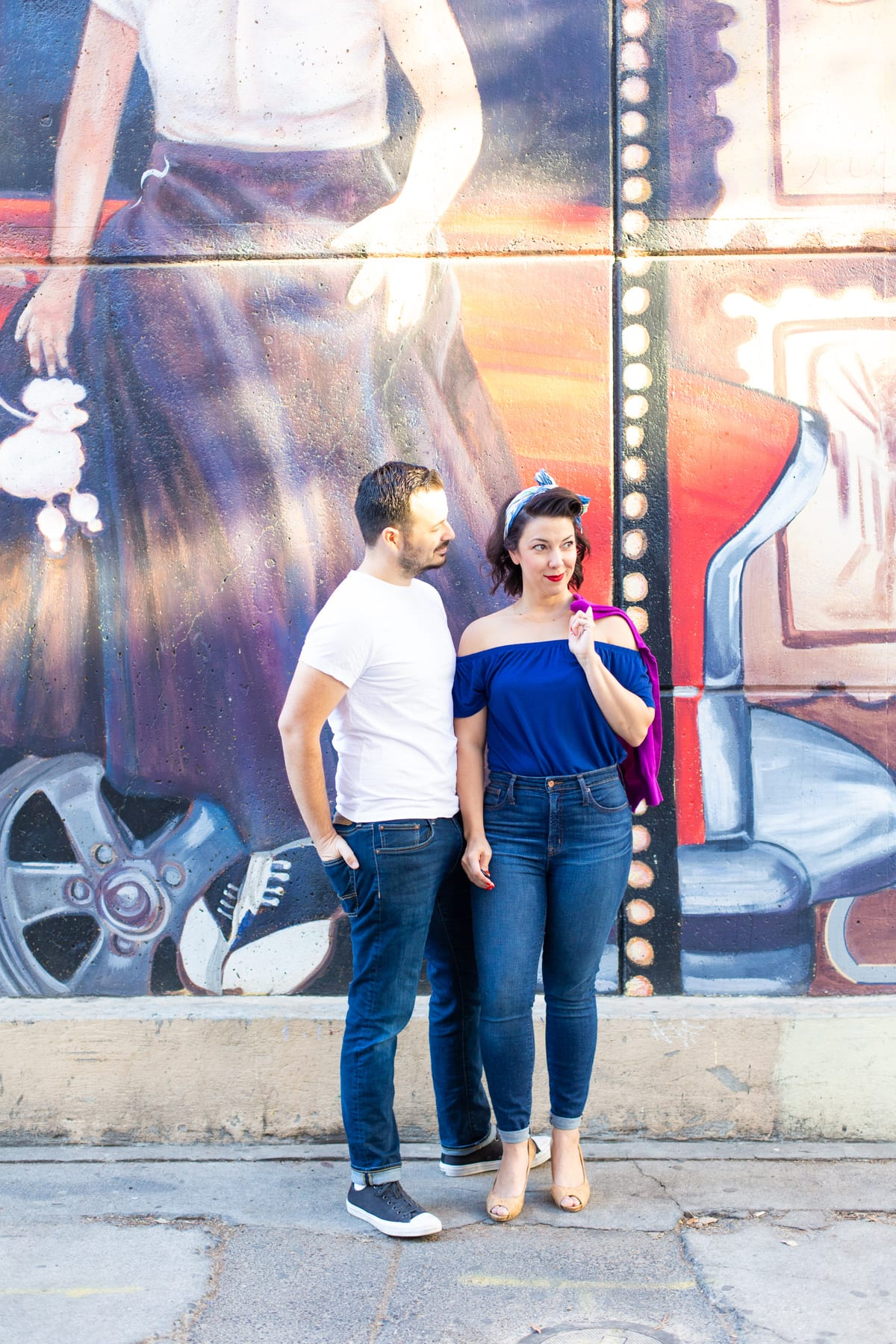 Make a Couples Greaser Halloween Costume