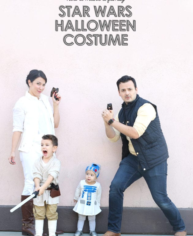 How to Make a Family Star Wars Costume for Halloween thumbnail