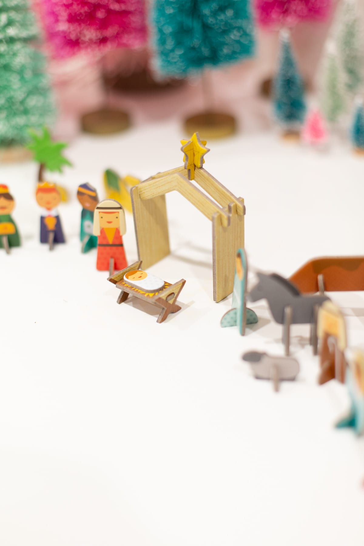 How to Make a DIY Nativity Advent Calendar