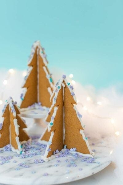 How to Make 3D Gingerbread Christmas Trees