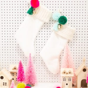 How to Make a Lined Christmas Stocking with a Knit Cuff thumbnail