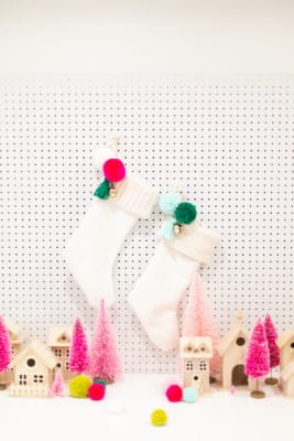 How to Make a Lined Christmas Stocking with a Knit Cuff