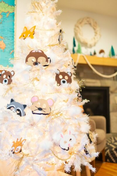 Forest Animal Fourth Birthday Party