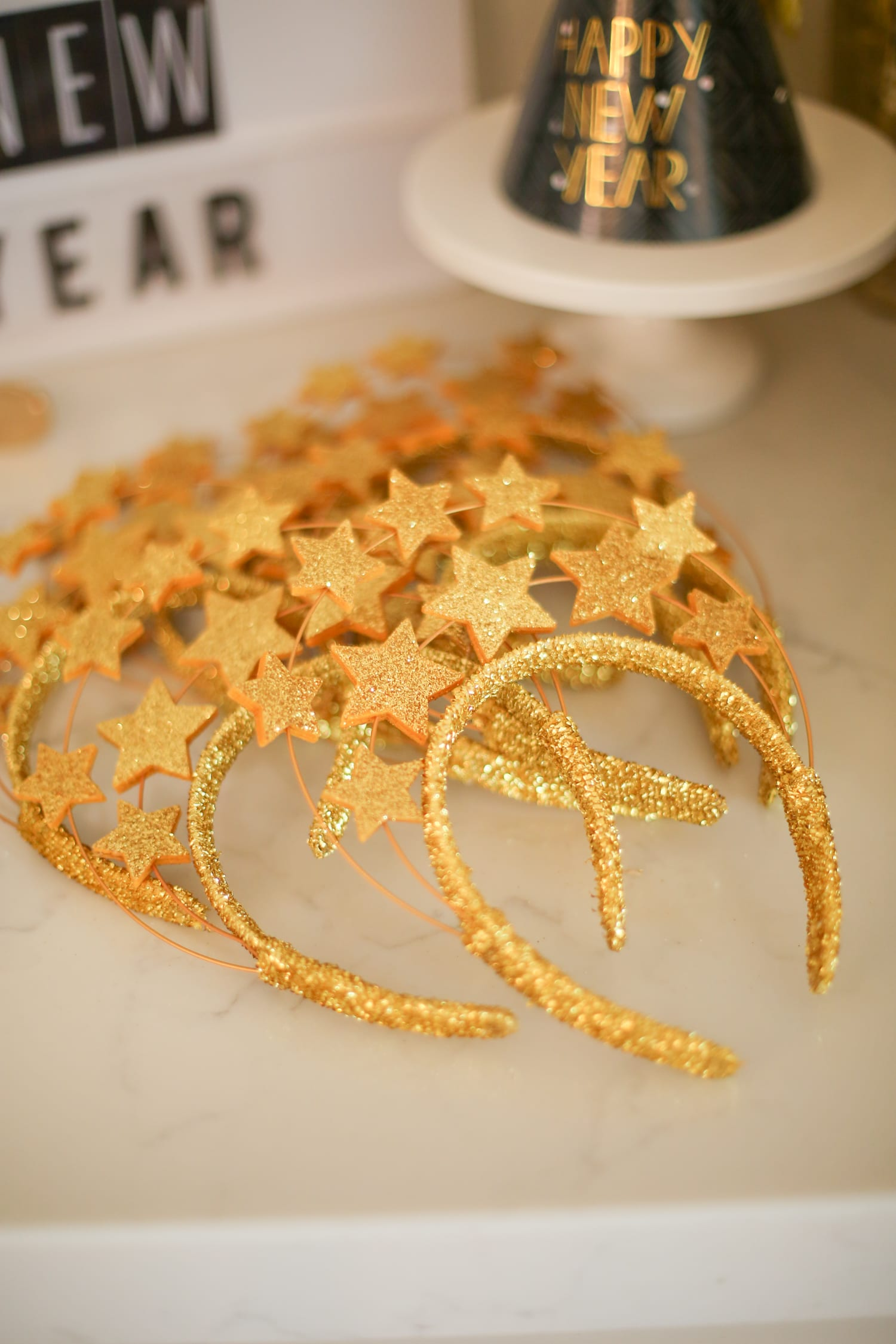 New Year's Eve tips, tricks, and decorations for a family party