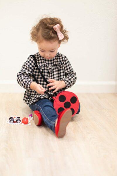 How to Make a Kids' Ladybug Purse