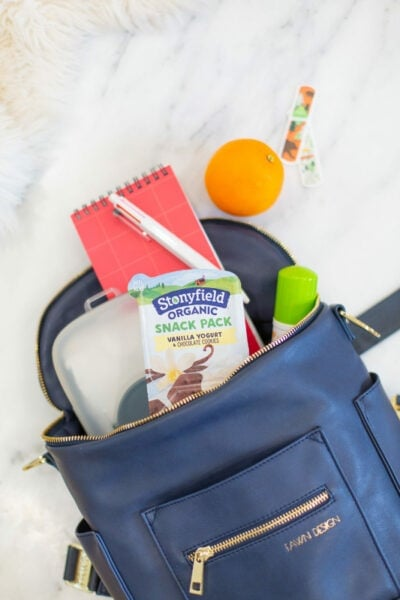 The Essential Things I Carry In My Bag When I'm Momming