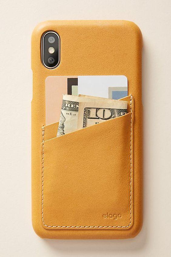 Elago Leather iPhone Case