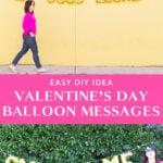 valentine balloon messages