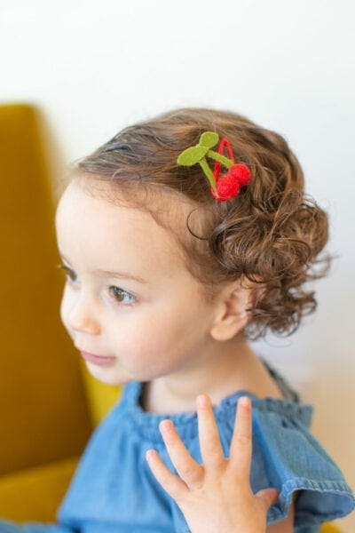 How to Make Hair Clips That Look Like Fruit